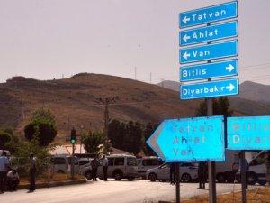 Bitlis - Tatvan Karayolunda mayınlı tuzak!