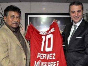Pervez Müşerref'ten Beşiktaş'a sponsor sözü