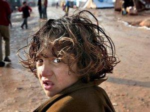 'Her üç saniyede bir Suriyeli çocuk mülteci oluyor'