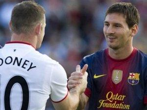 Lionel Messi'den Wayne Rooney'e övgü