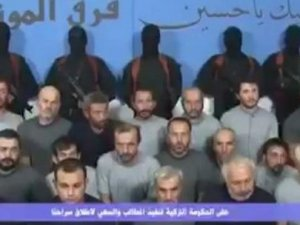 Kuzey Irak'ta kaçırılan Türklerden ilk görüntü