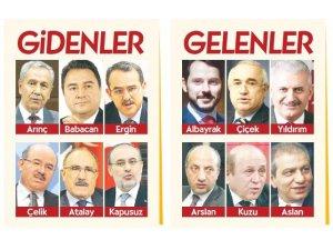 Erdoğan MKYK listesine kendine yakın isimleri ekledi