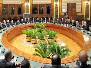 Mısır'da hükümet istifa etti
