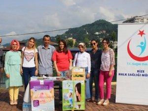 Rize'de, Sağlıklı Yaşam Yürüyüşü düzenlendi