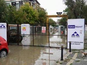 AKP'nin ıslah etmediği Kurbağalıdere taştı!