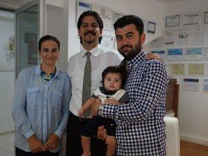 'Türkiye'nin ilk metabolik bebeği' dünyaya geldi