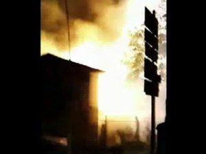 Yenibosna'da elektrik trafosu patladı