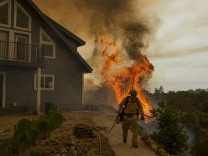 California'da orman yangını OHAL'i