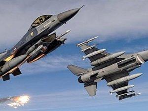 Savaş uçakları IŞİD'i vuruyor