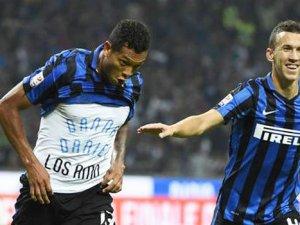 Milano derbisinde Milan'ı deviren Inter liderlik koltuğunda