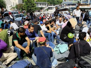 Otogar'daki 500 sığınmacı geri döndü