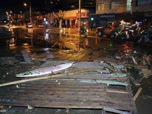 Şili'de 8.3 büyüklüğünde deprem!
