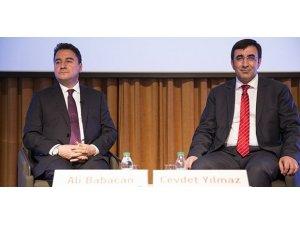Ali Babacan, Boğaziçi Üniversitesi'nde C20 Zirvesi'nde konuştu