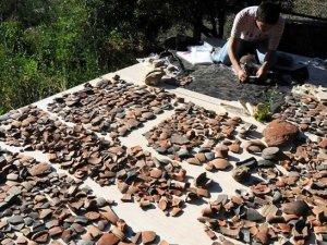 Isparta'da 1800 yıllık kabartma bulundu