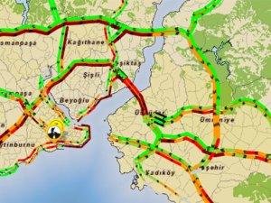 İstanbul'da Trafik Kabusu yaşanıyor