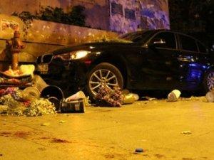 Bağdat Caddesi'ndeki çiçekçiyi çarparak öldüren sürücü yakalanamadı