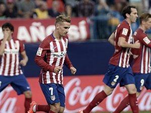 Atletico Madrid evinde zorlanmadı