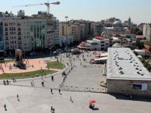 Taksim Meydanı'na aromatik bitki bahçesi