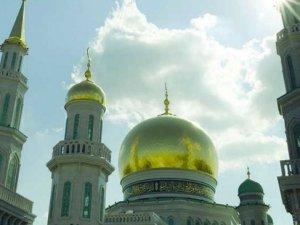 Erdoğan, Moskova Cami'nin açılışını yaptı