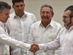 51 yıl sonra gelen barış: Kolombiya ile FARC el sıkıştı
