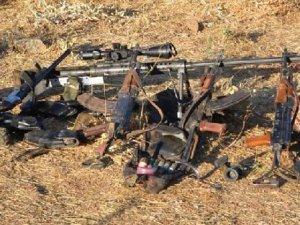 O PKK'lılar öldürüldü