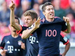 Lewandowski gole doymuyor