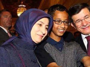 Davutoğlu'ndan ABD'li Ahmed'e sosyal medya desteği