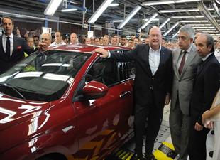 Tofaş'ın ürettiği Fiat Egea banttan indirildi