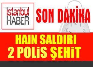 Adana'da polise silahlı hain saldırı: 2 Polis şehit oldu