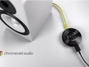 Chromecast Audio Da tanıtıldı!
