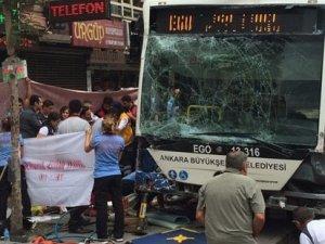 Ankara'daki otobüs faciasında şoför Erol Ayas tutuklama istemiyle mahkemeye sevk edildi