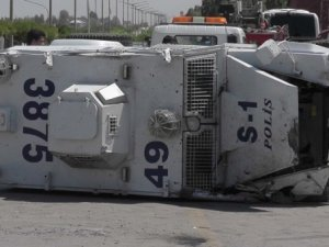 Diyarbakır'da panzer kazası: 1 polis şehit