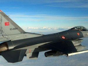 TSK: F-16'larımız Suriye sınırında 5 dakika 40 saniye taciz edildi
