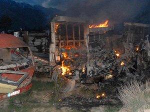 PKK'lılar Jandarma Karakolu'na saldırdı!