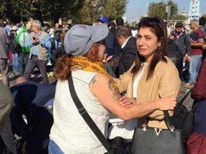 Ankara'da patlama anı kamerada