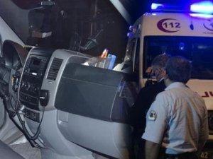 Hırsızlar ambulanstan navigasyon aletini çaltı