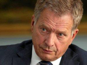 Finlandiya Cumhurbaşkanı'ndan Ak Saray'a gönderme