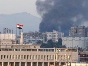 Suriye'deki Rus Büyükelçiliği vuruldu