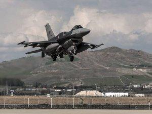 Füzeler F-16′ları taciz etti