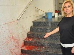 Yeni Asır Gazetesi'ne yumurtalı saldırı