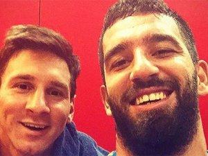 Messi'den Arda'ya tebrik telefonu