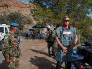 'James Bond' Kıbrıs'ta mayın patlattı