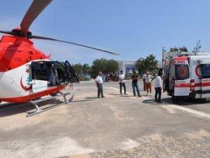 Gece de hizmet verecek ambulans helikopterler gelecek