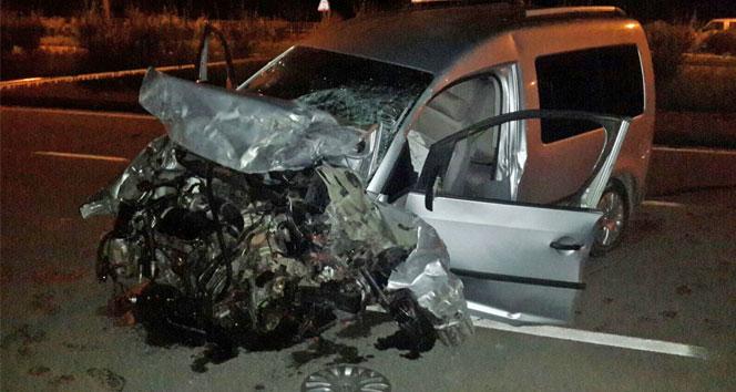 Rize'de trafik kazası