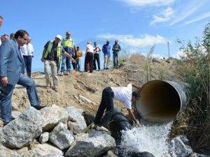 """KKTC'nin su sıkıntısı """"Asrın Projesi"""" ile son bulacak"""
