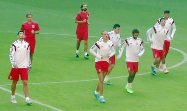 Benfica, Türk Telekom Arena'da çalıştı