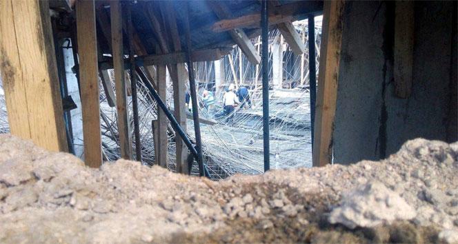 Nevşehir'de okul inşaatında göçük: 3 yaralı