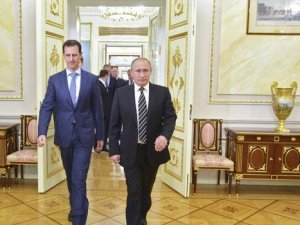 Esad, Moskova'da Putin ile görüştü