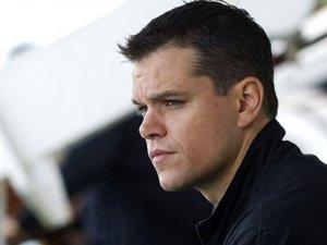 Matt Damon, Türkiye'den kaçtı