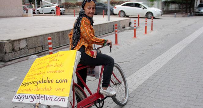 Yolcu paylaşım sitesinin reklamı için il il geziyor